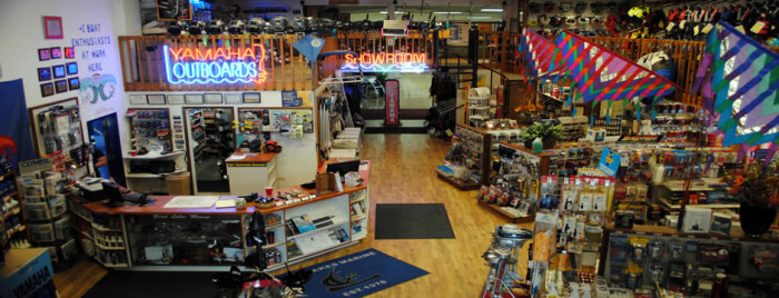Our Shop/Showroom Floor