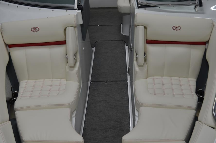 2019 Cobalt R3 Surf Classic Shale w/ Knockout Red Waterline Stripe and Grey Interior w/ Volvo ...
